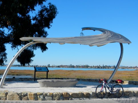 Pacific Current-SS viewing shelter & granite bench
