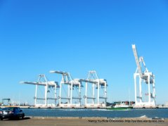 cranes at Port of Oakland