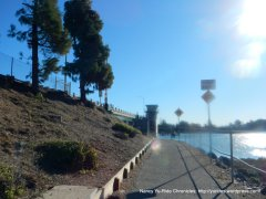 to Bay Farm Island Bicycle Bridge