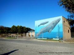 whale mural-Marina Park