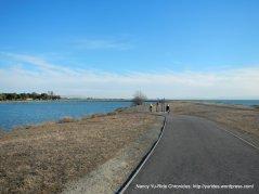trail around Small Boat lagoon
