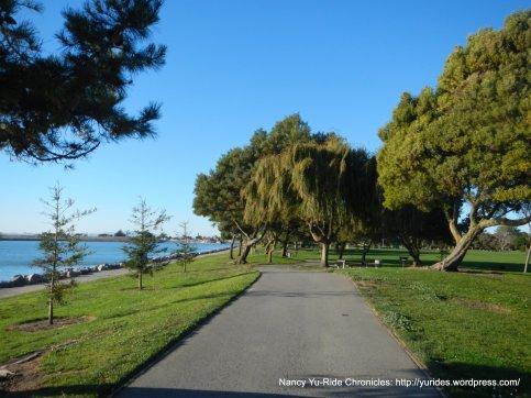 path through Marina Park