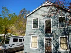 old clapboard house