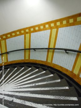 193 spiral steps