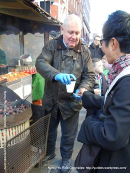 buying roasted chestnuts