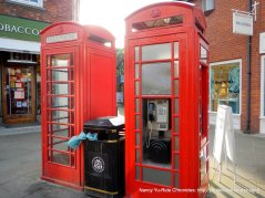 double red phone booths