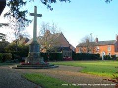 World War One Memorial