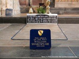 Shakespeare's grave