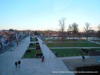 outdoor plaza