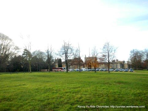 short walk to Palace grounds