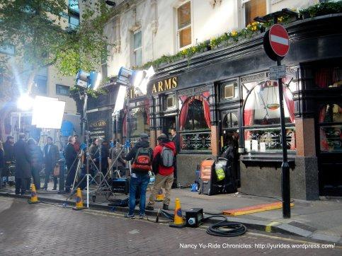 Kings Arm-filming Veep