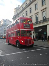 classic red Routemaster