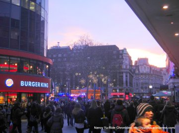 to Picadilly Circus