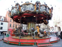 old time carousel