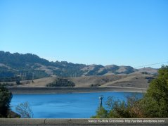 view of Briones Reservoir
