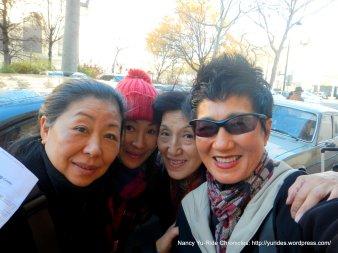 L-R: Sisters #3, #10, #2 & #7