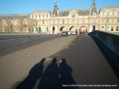 to the Louvre