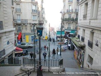 steps on Rue Pierre Dac