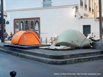 street encampment