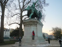 Charlemagne Statue