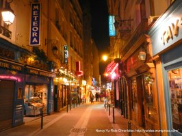 Rue de la Huchette;