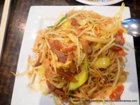 singapore rice noodle