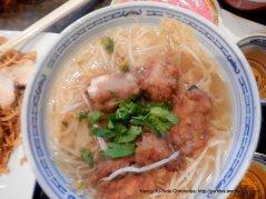 pork chop soup noodle