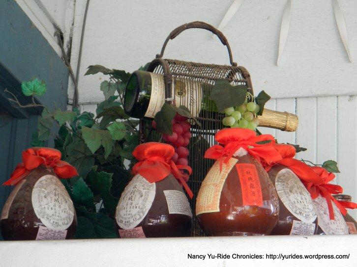 Chinese wine jugs