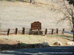 Mt Diablo South Gate Entrance