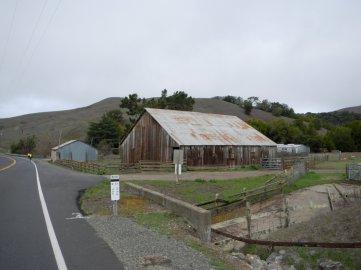 aged wooden barn