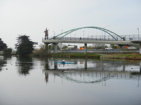 Bike/Ped Bridge-Aquatic Park