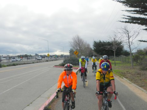 on SF Bay Trail