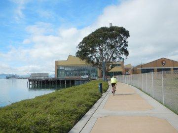 SF Bay Trail to Craneway Pavillion