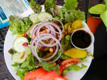Mixed green salad