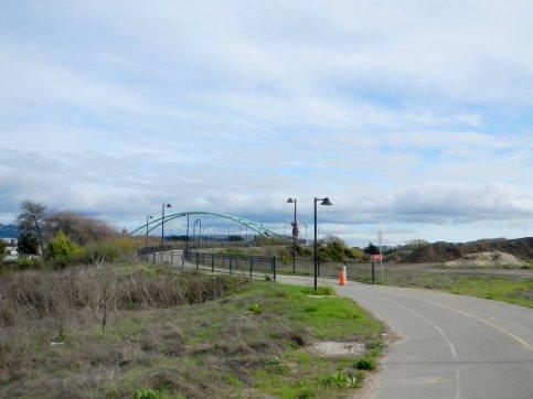 to Bike/Ped Bridge