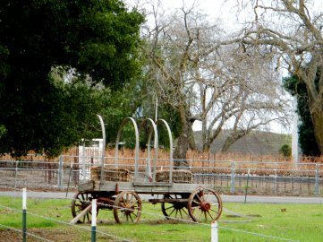 Highland Rd-old chuck wagon