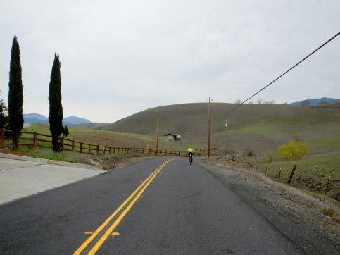 descend Collier Canyon Rd
