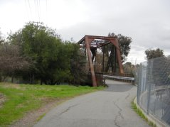 Iron Horse Trail-old RR trestle
