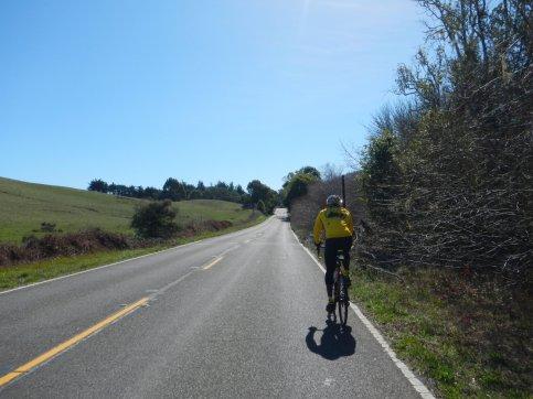 CA-1 S-rolling climbs
