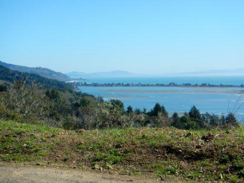 view of Bolinas Lagoon