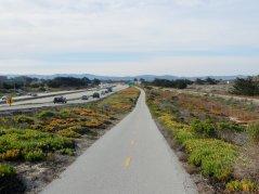 Monterey Coastal Rec Trail-Hwy 1