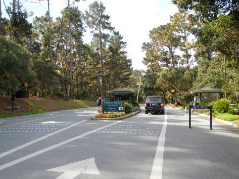 17 Mile Dr-Pacific Grove Gate entrance