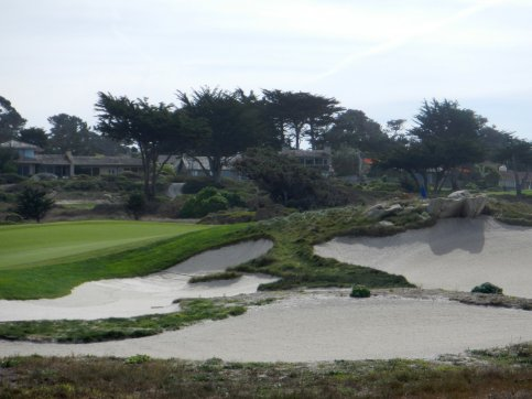 one of many golf courses