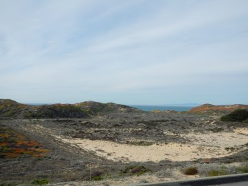 sand dunes-Fort Ord