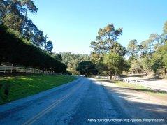 climb up Aguajito Rd-Gentry Hill