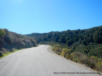climb up Robinson Canyon