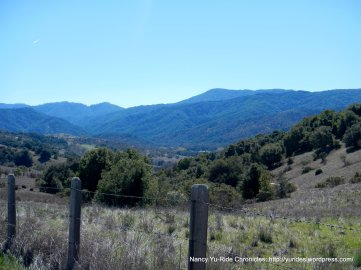 mountain ridge views