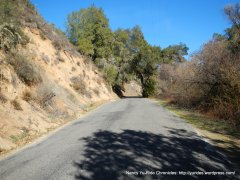 climb up Conejo Grade