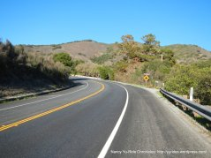 climb up Laureles Grade