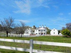 white estate home
